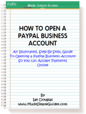 How to open a PayPal Account ready to accept online payments